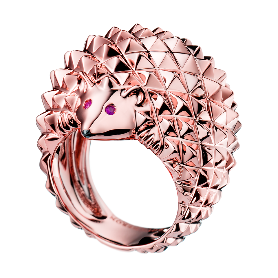 Hans, the hedgehog ring