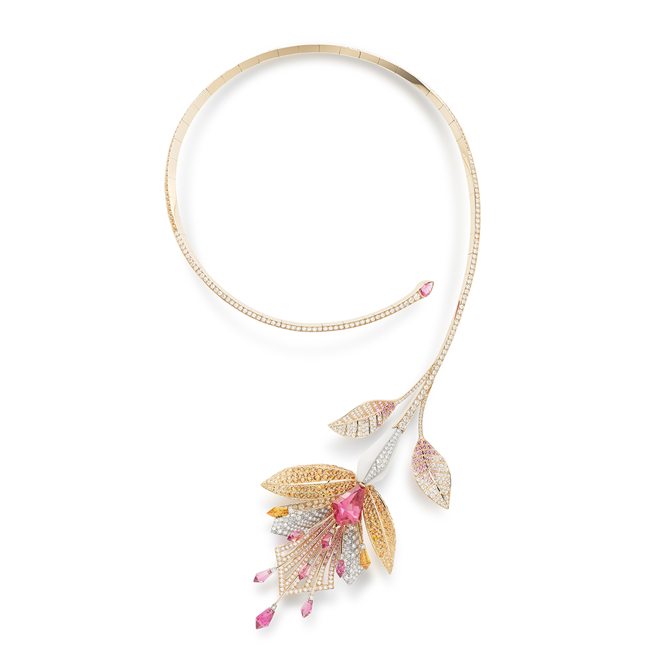 Fleur De Lotus High Jewelry Boucheron