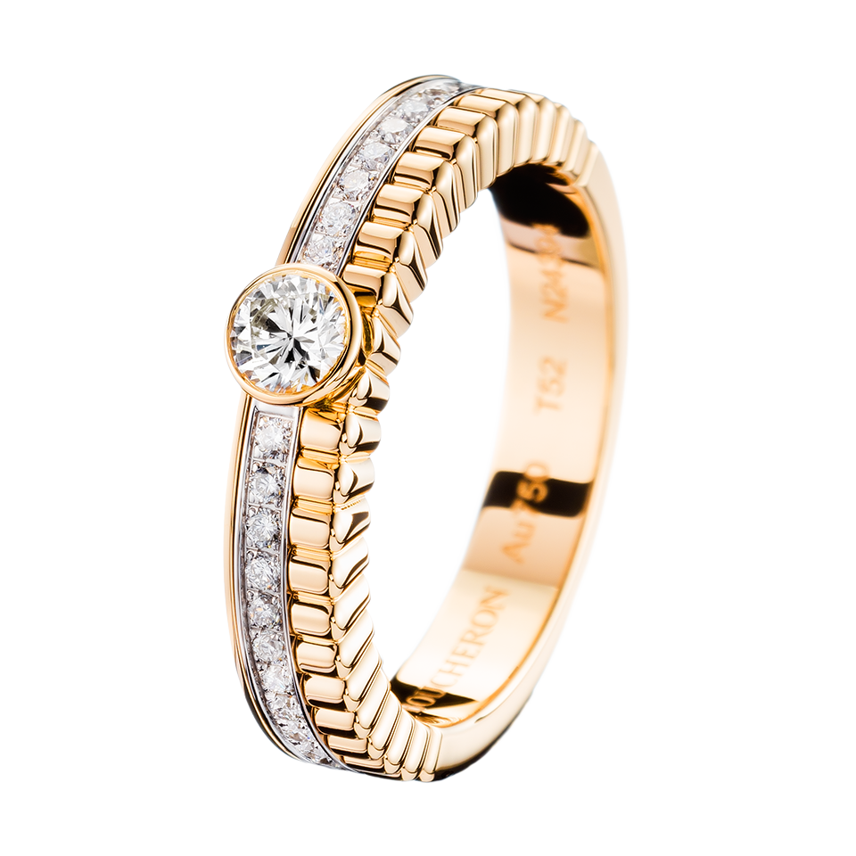 Luxury wedding rings engagement rings Boucheron USA