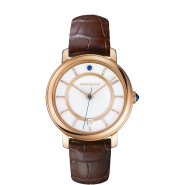 Montre Epure en or rose indexes-Small