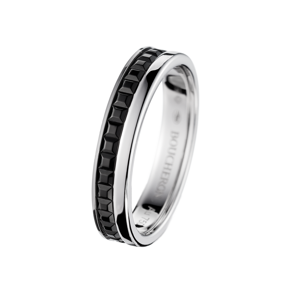quatre black edition wedding band wedding band in white - Black And White Wedding Rings