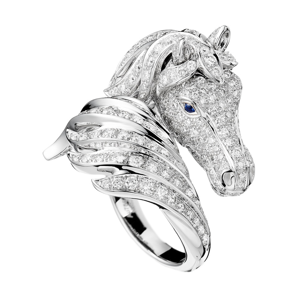 initials with jewellery products handcrafted quarter hers his your cut horse jewelry customized interlocking and
