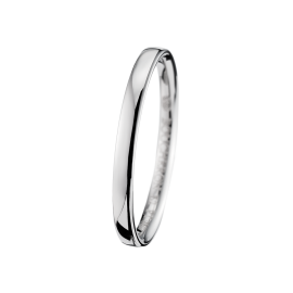 Epure Small Wedding Band In Platinum