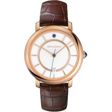 Epure Watch in pink gold indexes-Medium
